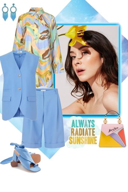 Radiate sunshine- combinação de moda