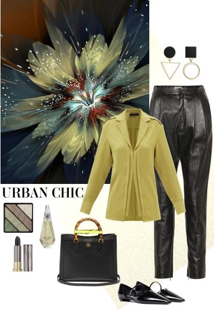 Urban chic.