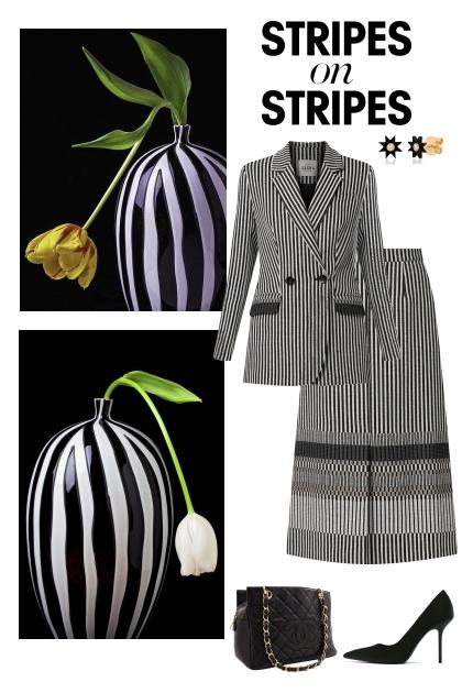Stripes on stripes.