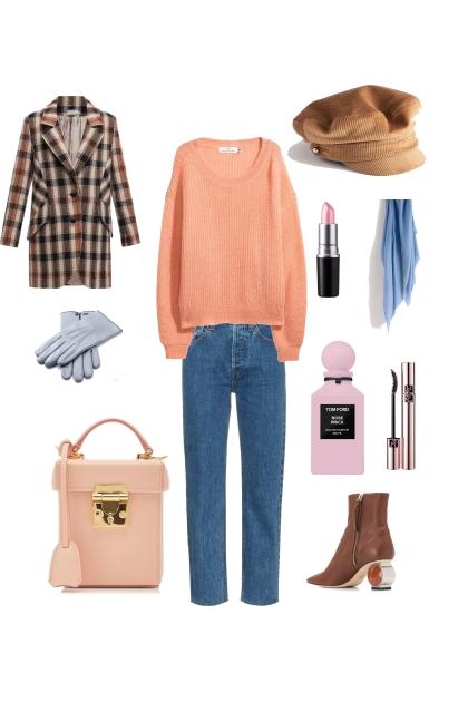 Весенний комплект с джинсами - Fashion set