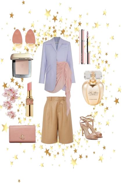 Жакет с шортами- Fashion set