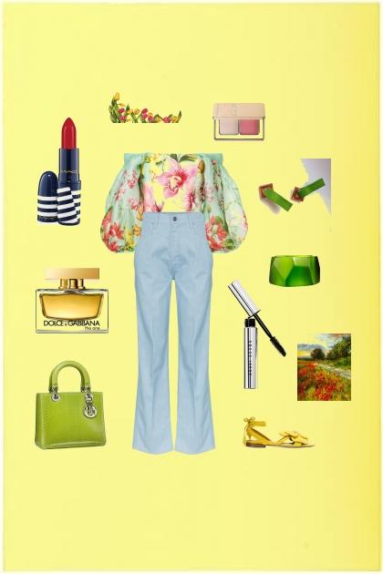 Цветочное лето- Fashion set