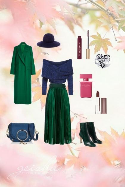 Сине-зелёная осень