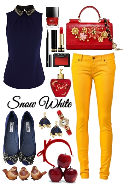 Snow White Casual Look