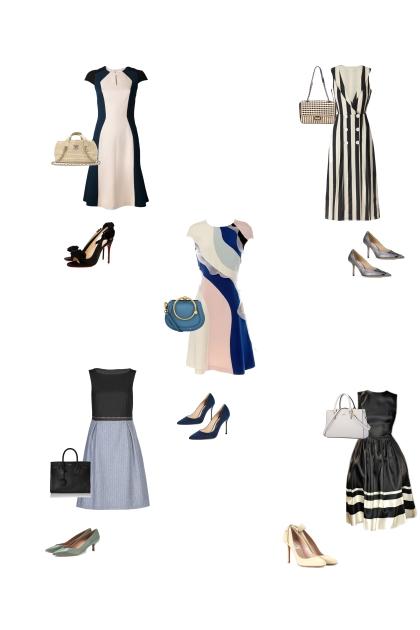 платья в графическом стиле для всех типов фигуры