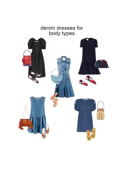 denim dresses for body types