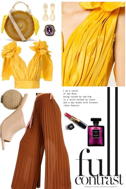 Mellow yellow- Fashion set