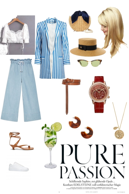 Pure Passion- Combinazione di moda