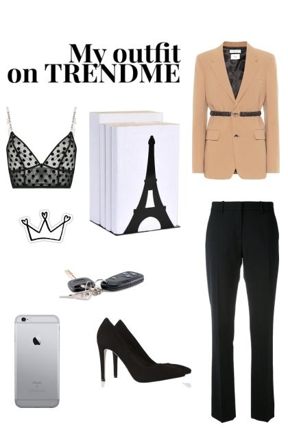 My outfit on TRENDME- combinação de moda
