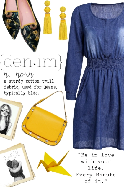 Yellow & Denim
