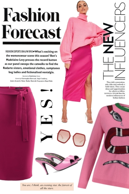 Fashion Forecast: Pink Edition