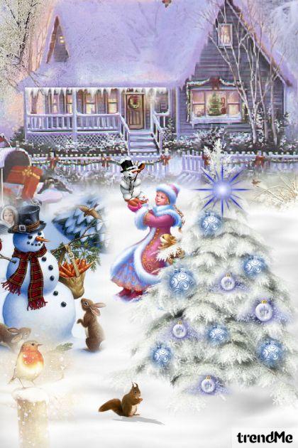 Snjeg svud pada zvona zvone .... :D