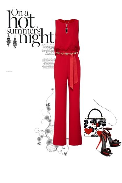 Summer Nights- Fashion set
