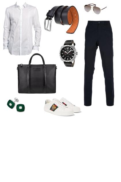 Fashion male casual