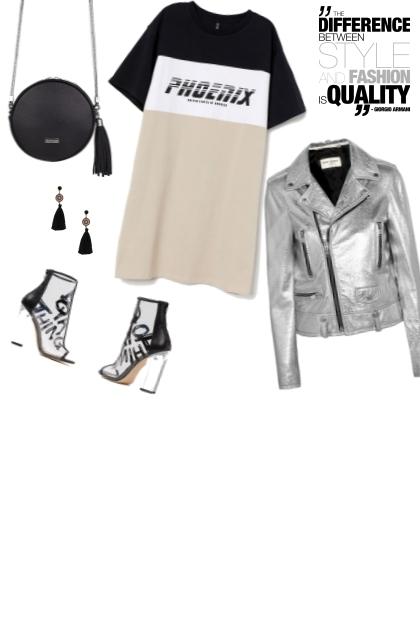 black silver- Fashion set