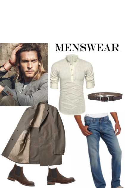 Man jeans style