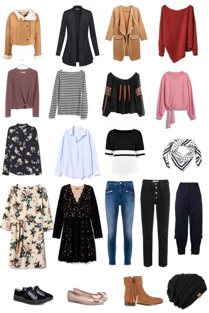 Fall Packing List for Switzerland