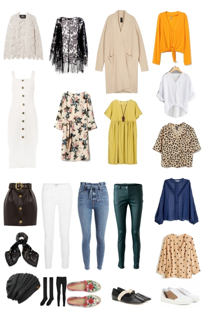 Packing List For California in Fall
