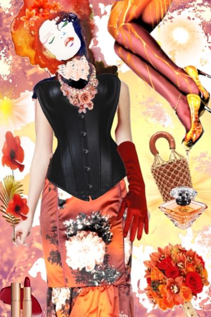 Red velvet ୭̥⋆*。- Fashion set