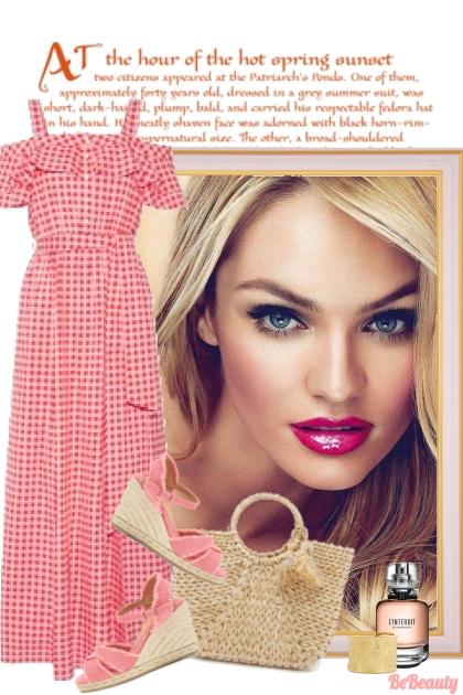 nr 90 - Gingham Dress