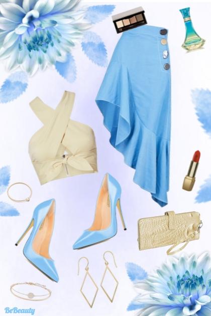 nr 118 - Asymmetric Skirt