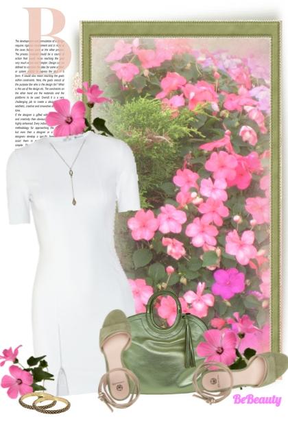 nr 147 - Floral Garden- Kreacja