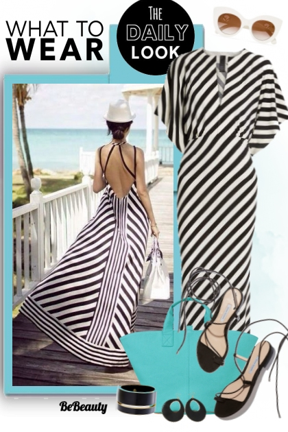 nr 156 - Striped Dress