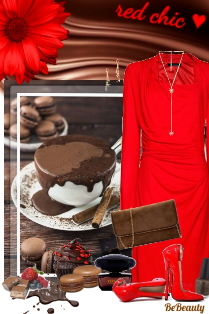 nr 197 - Red Chic & Hot Chocolate