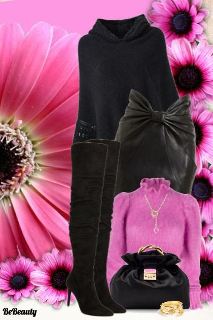 nr  213 - Black & Pink