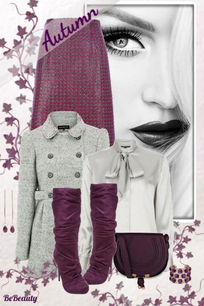nr 214 - Grey & Purple
