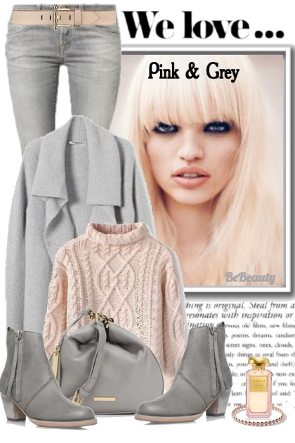 nr 268 - Pink & grey