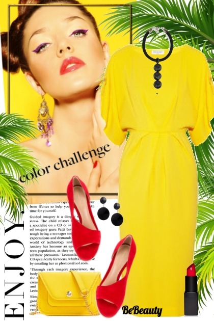 nr 294 - Yellow & red