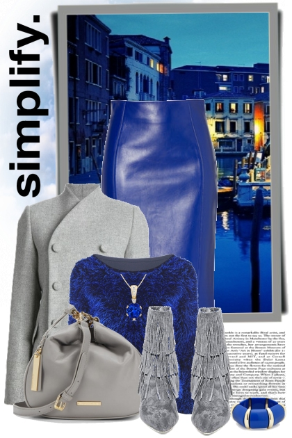nr 296 - Blue and grey