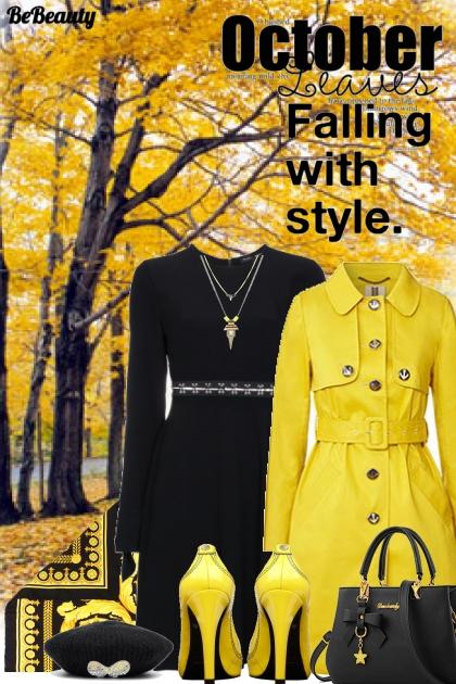nr 335 - Yellow & Black