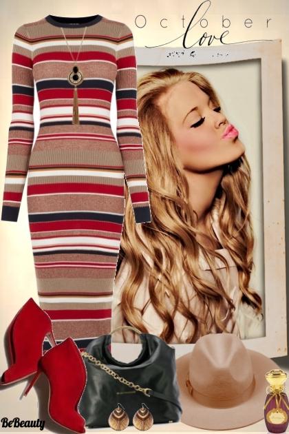 nr 340 - Striped Dress