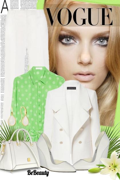 nr 359 - White & green