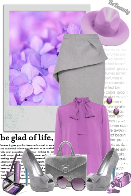 nr 470 - Millennial Purple- Fashion set