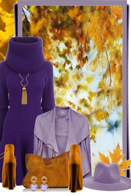 nr 473 - Millennial Purple- Fashion set
