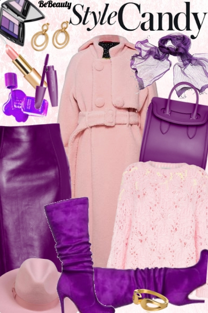 nr 476 - Millennial Purple- Fashion set