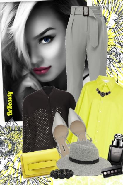 nr 482 - Grey-black-yellow