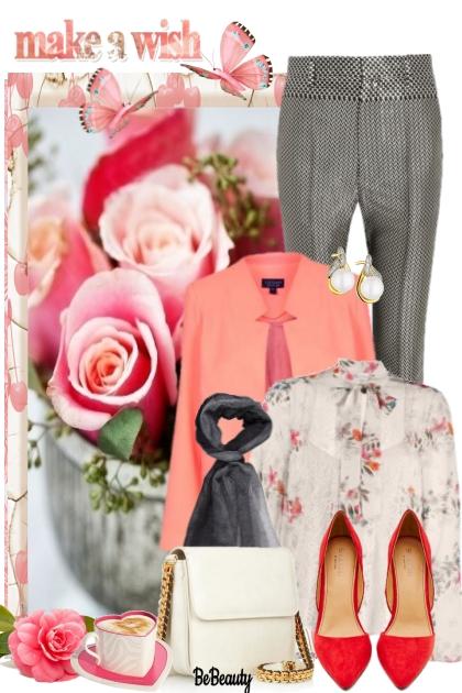 nr 770 - Floral- Fashion set