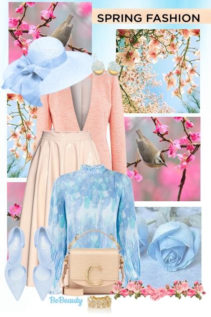 nr 777 - Spring Fashion- Combinaciónde moda