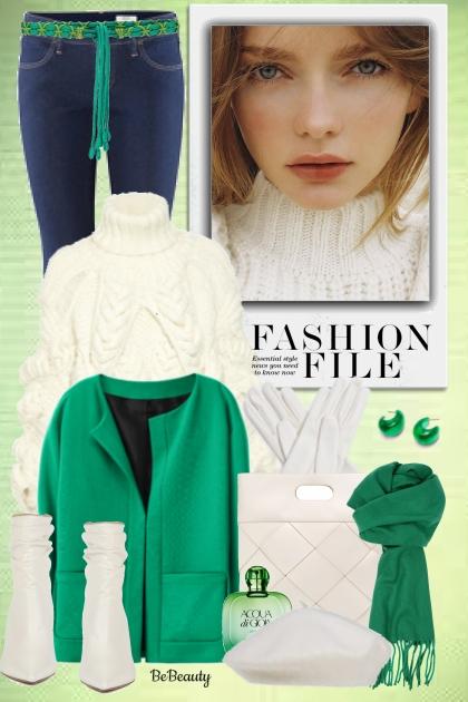 nr 785 - Winter Style- Combinazione di moda