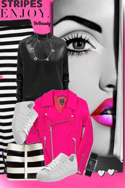 nr 813 - Stripes- Combinaciónde moda