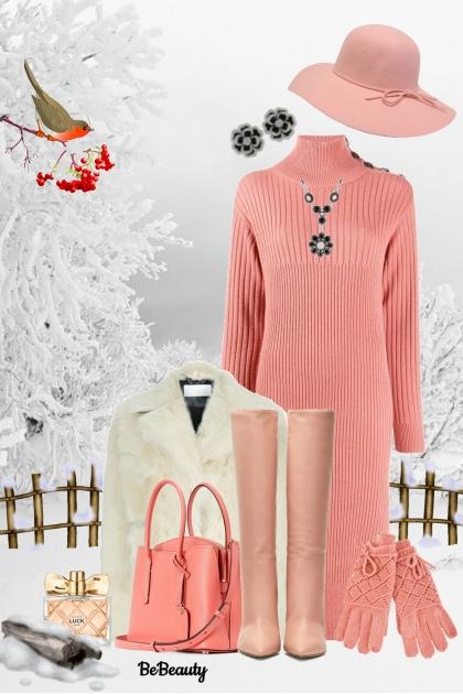 nr 871 - Sweater Dress- combinação de moda