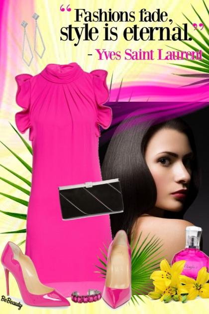 nr 974 - Hot Pink Dress