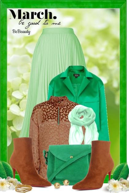 nr 1034 - Green & brown