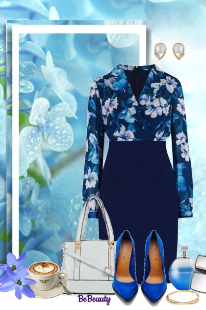 nr 1071 - Spring Work Wear- Fashion set