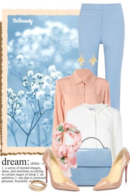 nr 1080 - Pastels- combinação de moda
