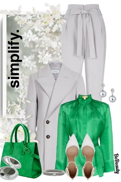 nr 1084 - Grey & green